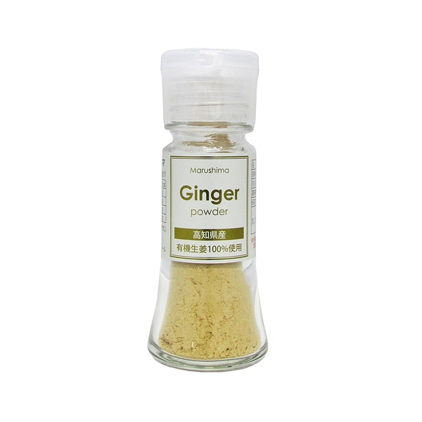 有機生姜使用 Ginger powder 10g・1本